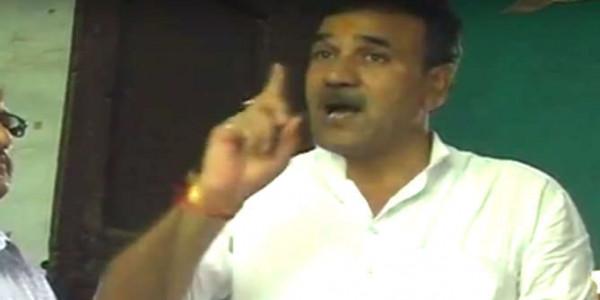 BJP MLA ने सरकारी कर्मचारी को दी धमकी, कहा- तेरी FIR कराकर जेल भिजवा दूंगा