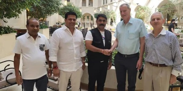Goa Deputy Chief Minister Visits Hebrew University, Holds Talks