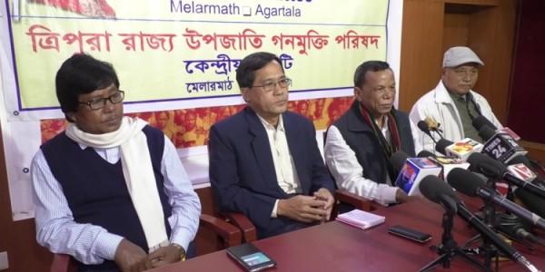 Tripura MP alleges starvation death under BJP-IPFT regime