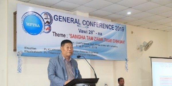 Mizoram fisheries minister graces general conference of fisheries technical service body
