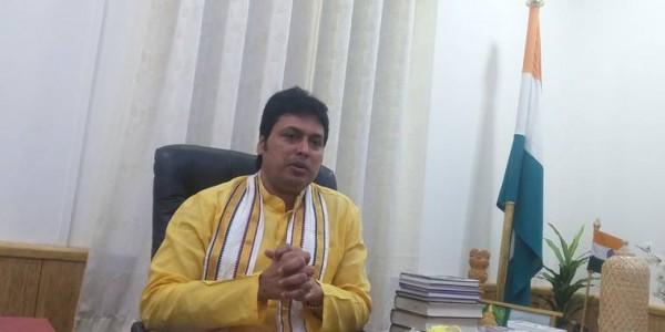 tripura-cm-biplab-deb-i-am-discovery-of-time-small-countries-drugs-elections