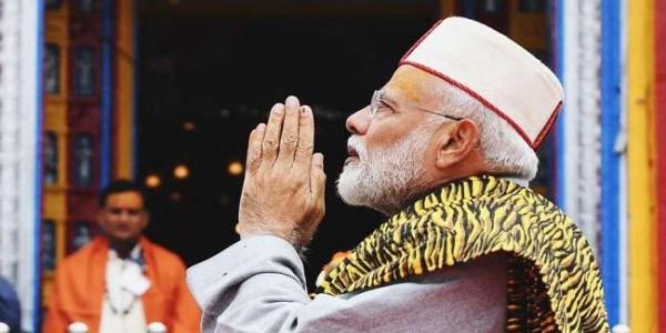 उत्तराखंड में प्रधानमंत्री नरेंद्र मोदी को मिलती है आध्यात्मिक ऊर्जा
