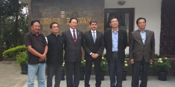 NPF delegation calls on Ravi; seeks early solution to Naga issue