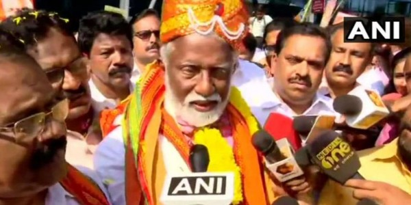'Left, Cong are irrelevant in Kerala': Rajasekharan after taking poll plunge