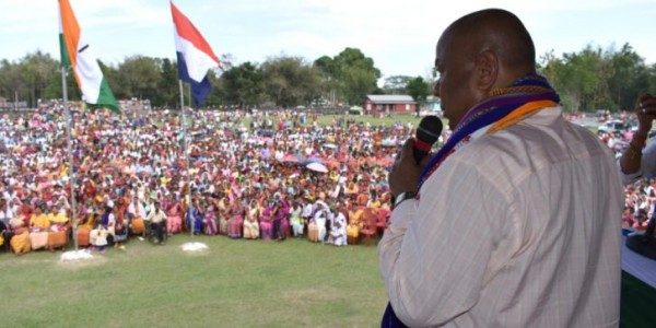 Alliance candidate to voice people's concern, says Hagrama