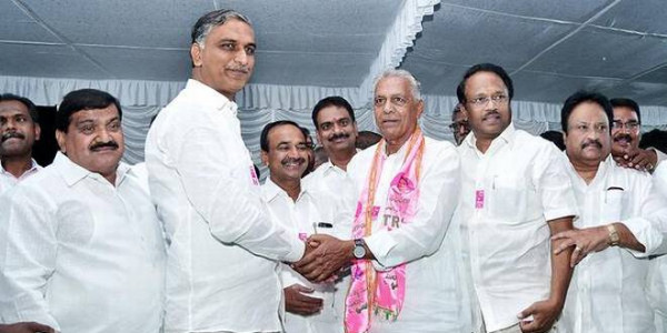 MLC, two ex-MLAs of Cong. join TRS