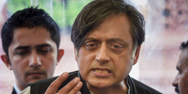 Shashi Tharoor had a lot to say on Modi govt. achievements