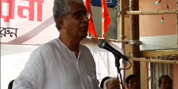 BJP murdered democracy in Tripura, alleges Manik Sarkar