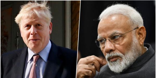 बोरिस जॉनसन ने पीएम मोदी से की बात, कश्मीर पर US के बाद अब ब्रिटेन भी भारत के साथ