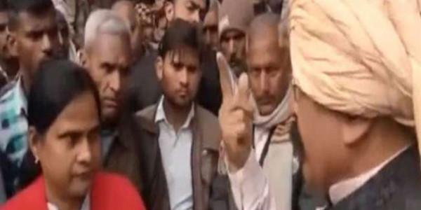 भाजपा विधायक ने महिला एसडीएम को हड़काया, कहा- आपको मेरे ताकत का एहसास नहीं