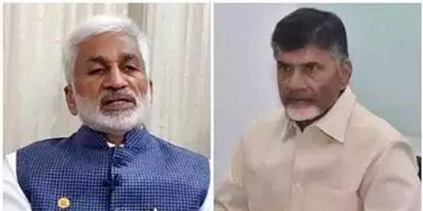 YSRCP MP Vijayasai Reddy slams Chandrababu Naidu