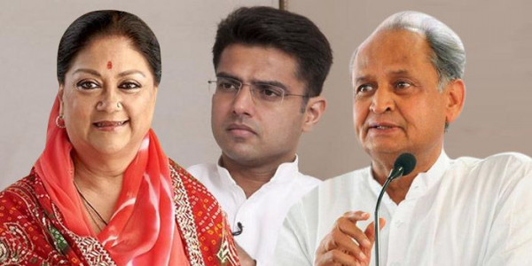 Cong Heading For Majority in Rajasthan