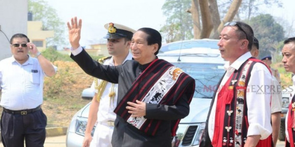 Nagaland: Former Odisha Governor arrives Dimapur