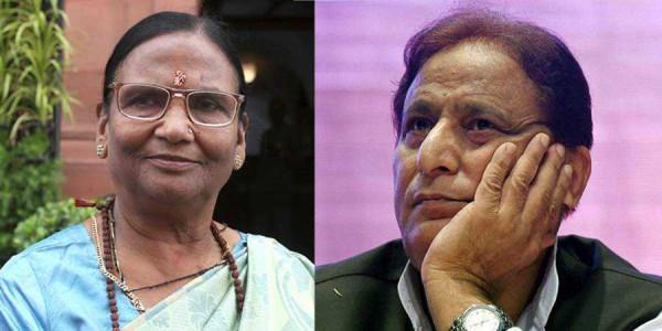 रमा देवी पर विवादित टिप्पणी के लिए लोकसभा में सपा सांसद आजम खान ने माफी मांगी