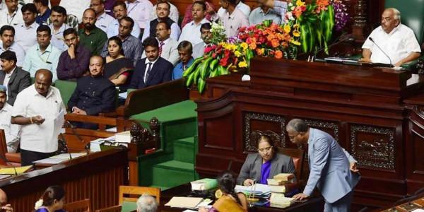 Karnataka Trust Vote: Ban imposed on public gatherings as tensions rise