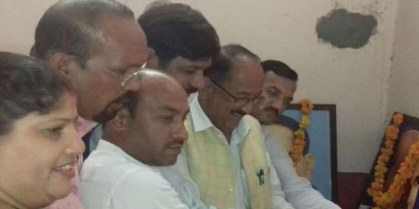 भाजपा नगर कार्यसमिति की बैठक में की गई बूथों की समीक्षा
