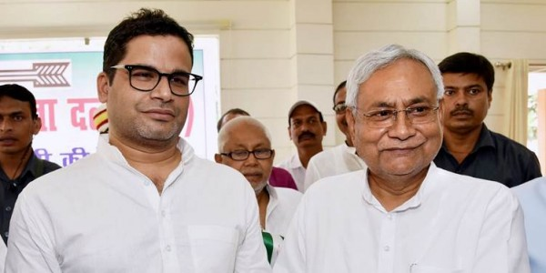 On Prashant Kishor as his successor, Nitish Kumar says it is up to the party to decide