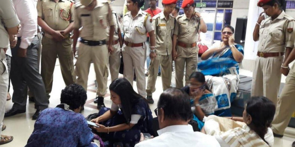 After overnight detention at Silchar airport, TMC leaders return to West Bengal