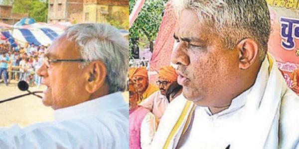नीतीश व भूपेंद्र ने एनडीए सरकार की गिनायीं उपलब्धियां, मांगे वोट, विकास के मुद्दे पर विपक्ष को घेरा