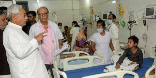 नीतीश कुमार का हवाई सर्वे रद्द, अब लू पीड़ितों से मिलने जाएंगे अस्पताल