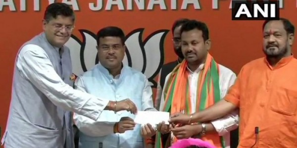 Odisha MLA Prakash Chandra Behera joins BJP