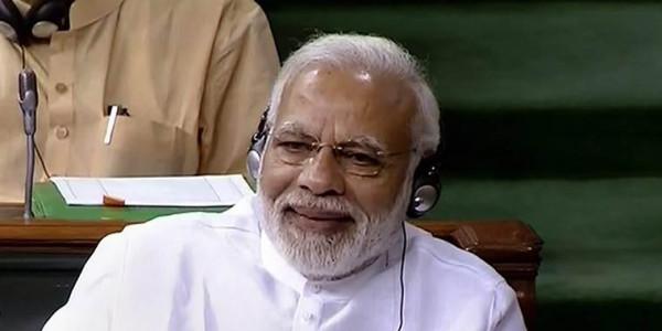 modi speech on no confidence motion in lok sabha