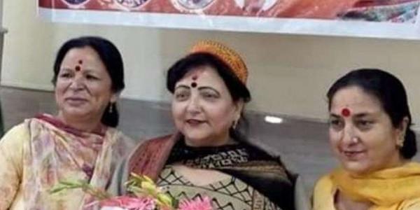 धर्मशाला उपचुनाव: भाजपा महिला मोर्चा ने बनाई रणनीति, सरवीण ने दिया कार्यकर्ताओं को खास उदाहरण