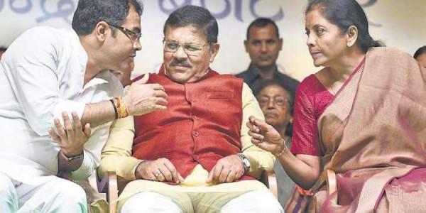 vote-for-bjp-for-development-of-delhi-urges-fm-nirmala-sitharaman