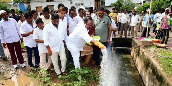 'Transform Karimnagar into a clean city'