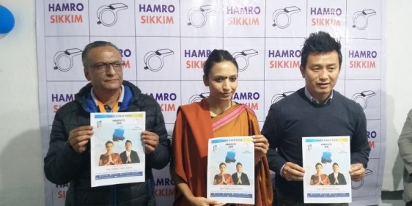 sikkim-hsp-releases-poll-manifesto-with-universal-right-based-system