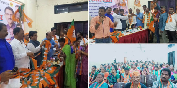 400 Shiv Sena Workers Join BJP