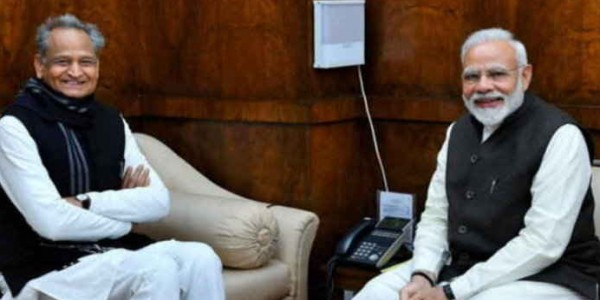 प्रधानमंत्री मोदी ने मुख्यमंत्री गहलोत को ट्वीट कर दी हर्निया सफल ऑपरेशन की बधाई