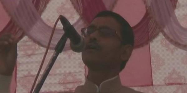 BJP MLA विक्रम सैनी का विवादित बयान, कहा-हिंदुस्तान हिंदुओं का देेश है