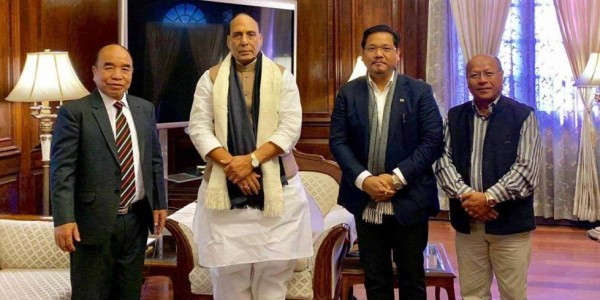 Meghalaya And Mizoram CMs Meet Rajnath Singh, Express Unhappiness Over Citizenship Bill