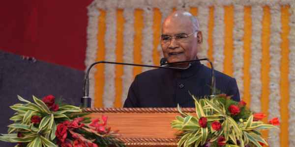 कानपुर: दो दिन के दौरे पर राष्ट्रपति कोविंद, अंतरराष्ट्रीय सम्मेलन का करेंगे शुभारम्भ