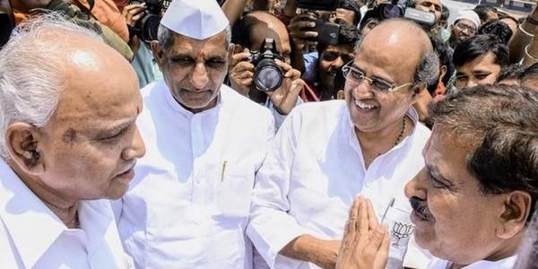 BJP candidates will defeat Kharge, Muniyappa: BSY