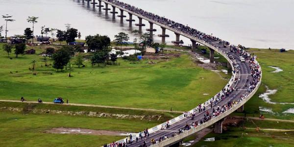 21 साल बाद देश का सबसे लंबा डबल डेकर पुल तैयार: पीएम मोदी करेंगे उद्घाटन