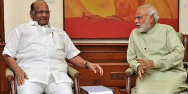 Sharad Pawar Discusses Farmers Condition With PM Modi