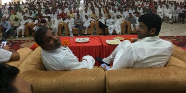 यमुनाननगर में भाजपा के चार विधायक होने के बावजूद जोरों पर चल रहा है अवैध खनन- दुष्यंत चौटाला