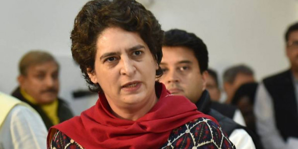 BJP is Busy Filling Pockets with Black Money: Priyanka Gandhi Vadra