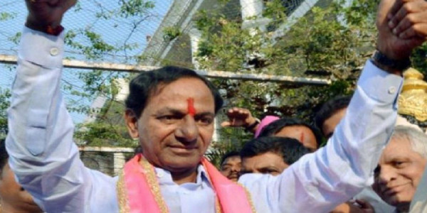 trs-k-chandrasekhar-rao-to-take-oath-as-chief-minister-thursday