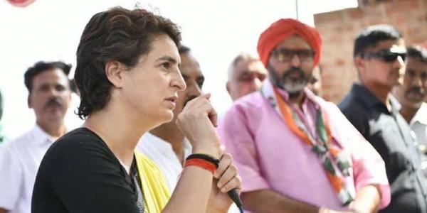 महिलाओं के प्रति हो रहे अपराधों पर प्रियंका गांधी ने किए योगी से सवाल