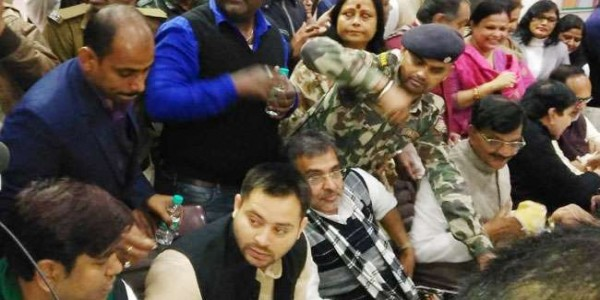 congress-organised-makar-sankranti-party-in-sadakat-ashram-patna