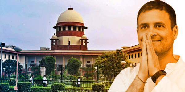 अवमानना मामले में कांग्रेस अध्यक्ष राहुल गांधी ने सुप्रीम कोर्ट से बिना शर्त मांगी माफी