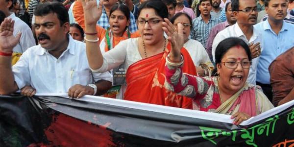 BJP worker found hanging in Bengal