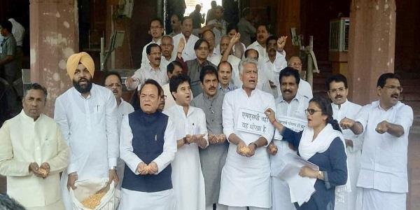 प्रधानमंत्री द्वारा घोषित एम.एस.पी. किसानों से धोखा : जाखड़