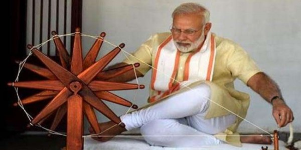 prime-minister-modi-said-five-lakh-youth-will-get-employment-from-charkha-cluster