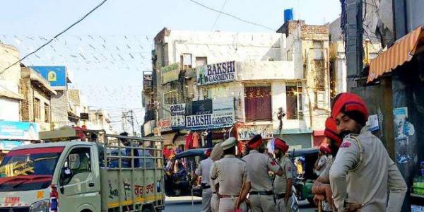 Ayodhya Verdict: फैसला आने के बाद सुरक्षा कड़ी, चौक-चौराहों पर पुलिस बल तैनात