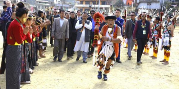 Barak festival concludes in Senapati
