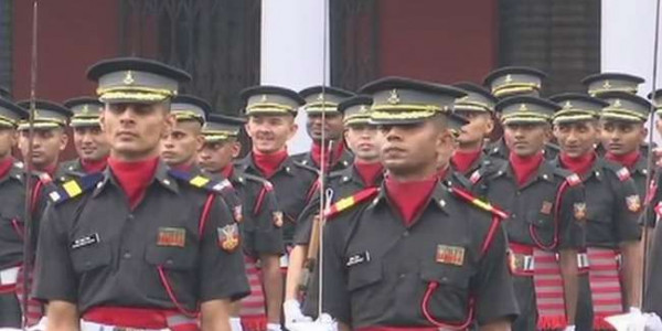 passing out parade at Indian military army uttarakhand
